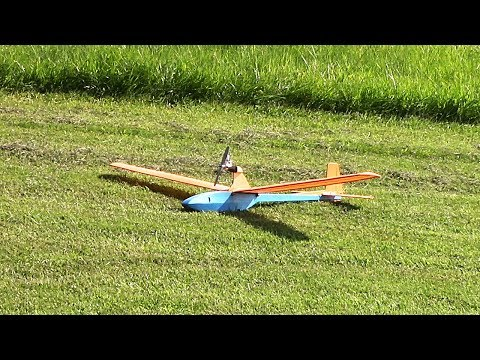 RC Powered Glider - Compression Ignition Engine (GVAM Field 7/30/17)