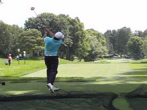 Pablo Larrazabal driver swing dtl 2013 PGA Championship