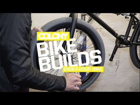 Unboxing & build of a 2018 Colony Endeavour complete bike in the Matte Black colourway. Available now across the globe. More info on the Colony Endeavour can be found here: http://colonybmx.com.au...