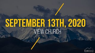 View Church Live Stream - September 13th