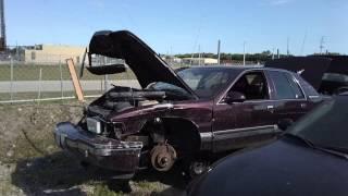1996 Buick Roadmaster sedan at LKQ (Atlantic) junkyard in West Palm Beach, FL