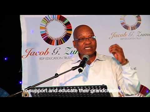 President Jacob Zuma hosts the Children and Elders' Christmas Parties at Nkandla
