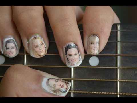 Newspaper Nails | Stylish and Easy Nail Art Tutorial