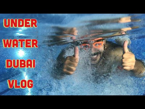 FIRST UNDERWATER EXPERIENCE | UAE Vlog # 4 |