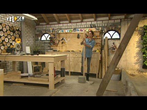 Maak je eigen vloerlamp eigen huis tuin youtube for Hoofdbord maken eigen huis en tuin