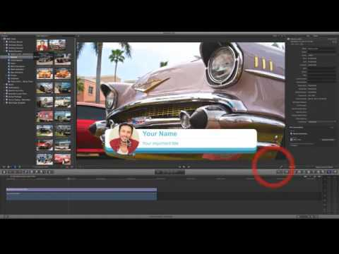 Free Final Cut Pro Motion Template Rounded Corner Lower Third