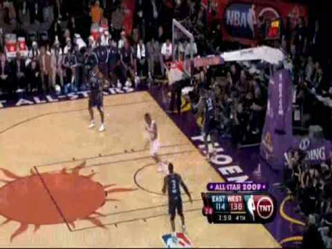 Tony Parker alley oops to CP3 in 2009!