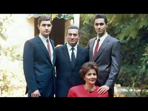 صور نادره للرئيس الأسبق محمد حسني مبارك واسرته
