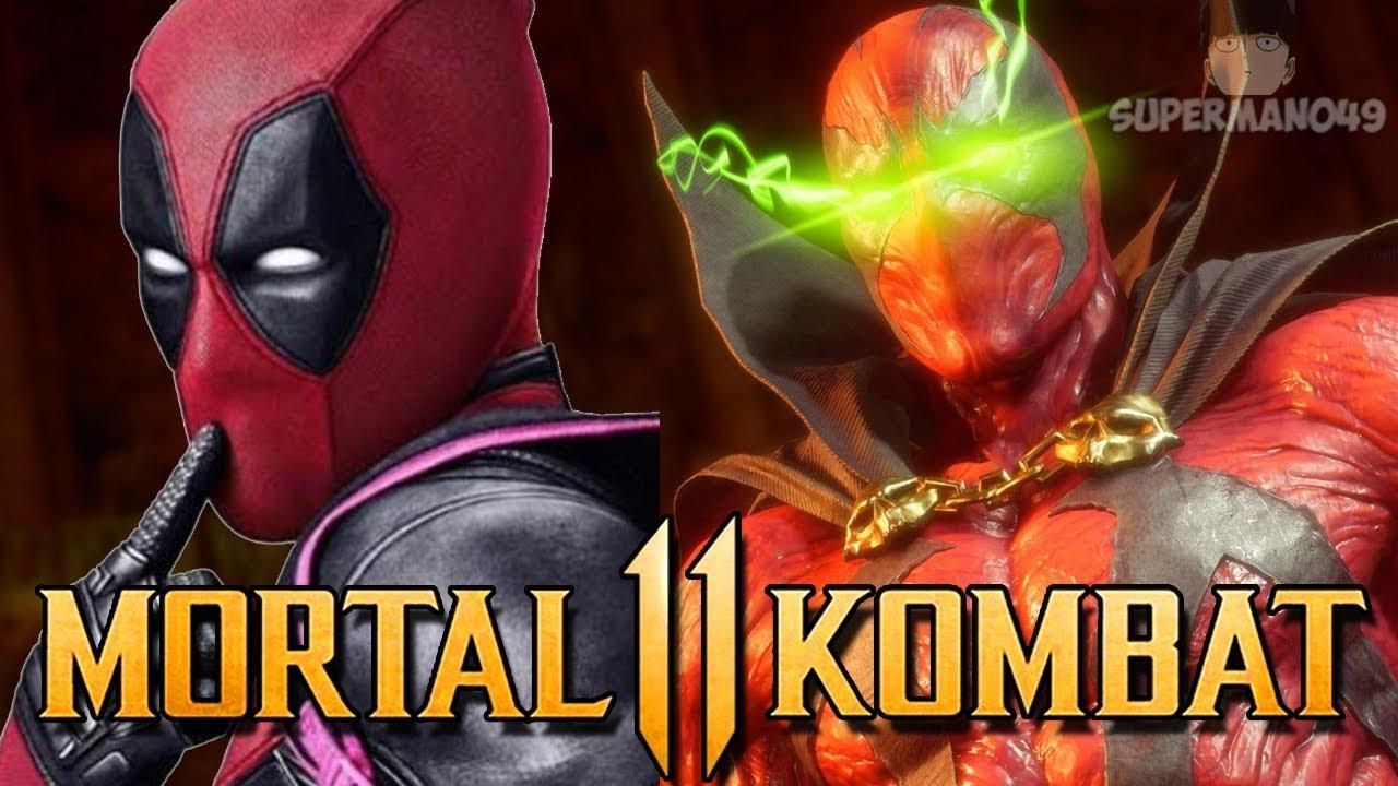 "DEADPOOL SPAWN IS THE BEST! - Mortal Kombat 11: ""Spawn"" Gameplay"