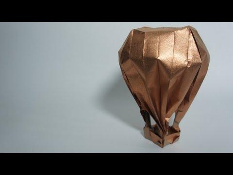 Origami Hot-Air Balloon (Jason Lin)