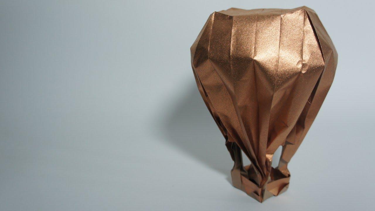 Origami Hot Air Balloon Jason Lin Youtube Parrotdiagram By Barth Dunkan Ecorigami