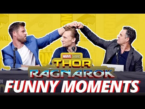 Download Youtube: Thor: Ragnarok Cast - Best Funny Moments (2017)