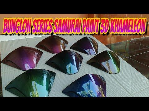 WARNA BUNGLON  SAMURAI PAINT 3D KHAMELEON !!!