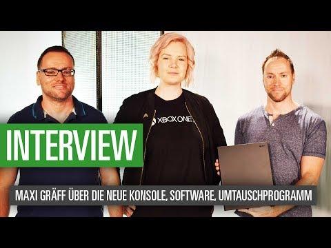 Xbox One X: Maxi Gräff im Interview über die neue Konsole, Software, Umtauschprogramm und mehr