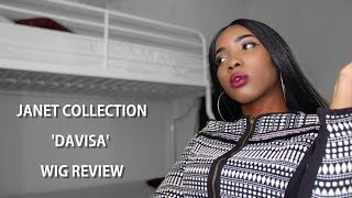affordable synthetic wig review janet collection davisa