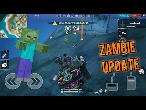 New Zombie mode.. [Update] , Garena Free Fire