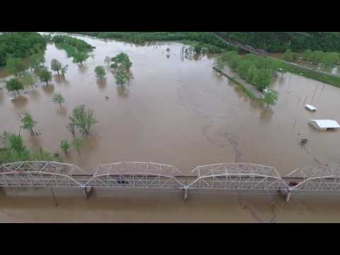 Flooding in Forsyth, MO - Shadow Rock Park - Extended Cut