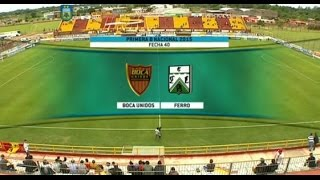 Boca Unidos vs Ferro full match