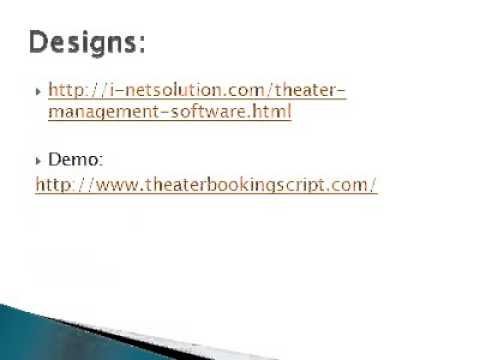Theater Management Software, Theater Management System