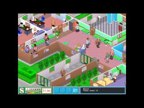 Theme Hospital (Bullfrog Productions, Ltd.) (1997) - Level 5 [HD]