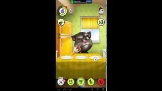 Игра на Андроид My talking Tom - Мой говорящий кот Том