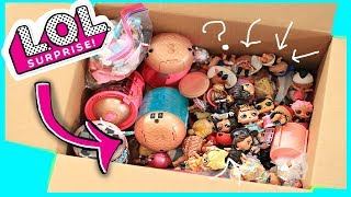 HUGE LOL Surprise Doll Unboxing 😲 💕 Underwraps, confetti pop and more!