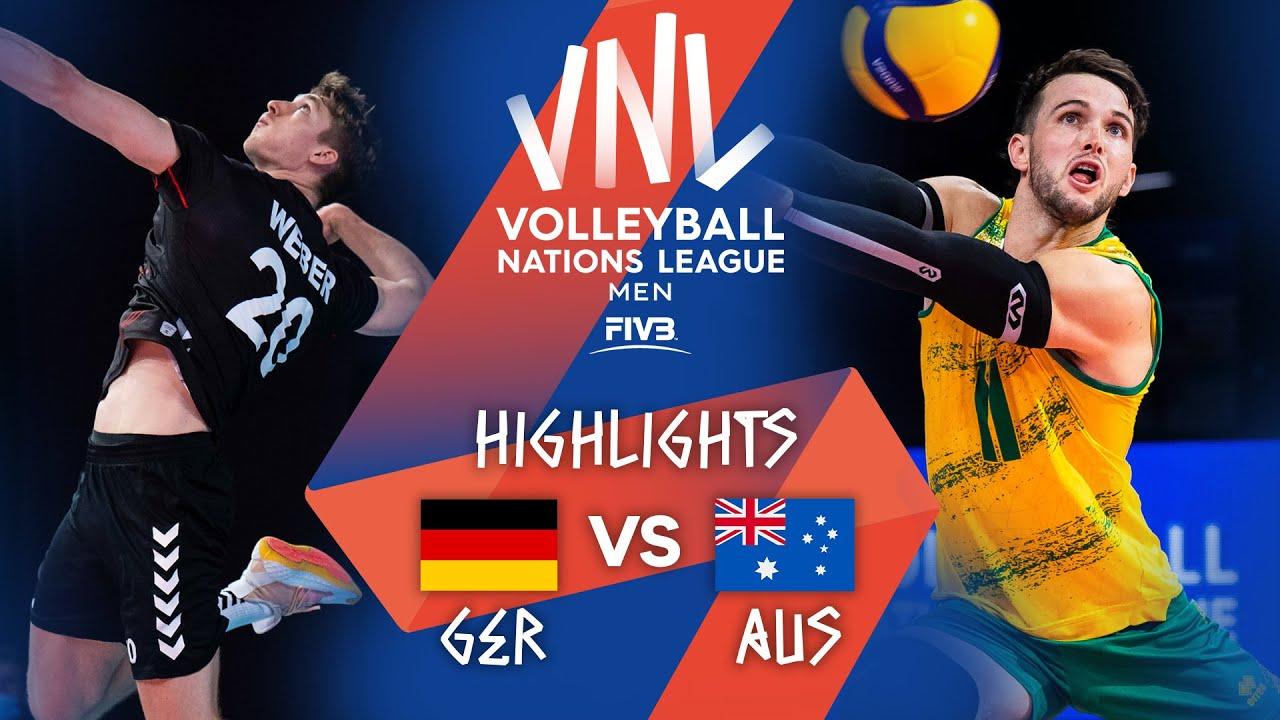 Download GER vs. AUS - Highlights Week 1   Men's VNL 2021