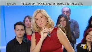 L'aria che tira - Berlusconi spiato, caso diplomatico Italia - Usa (Puntata 24/02/2016)