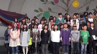 Earth Day Tokyo 2014 メインステージでのライブ演奏.