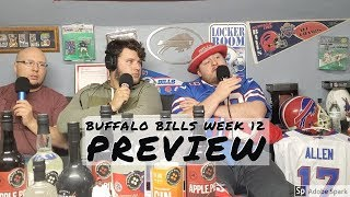 Buffalo Bills Vs Denver Broncos Preview || Week 12 Pregame