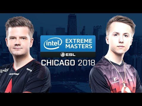 CS:GO - Astralis vs. mousesports [Train] Map 1 - Quarterfinals - IEM Chicago 2018