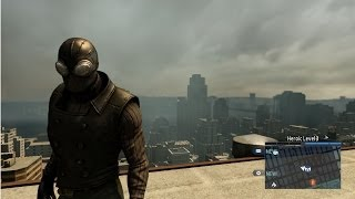 The Amazing Spider-Man 2 - Spider-Man Noir Costume Free Roam Gameplay [HD]