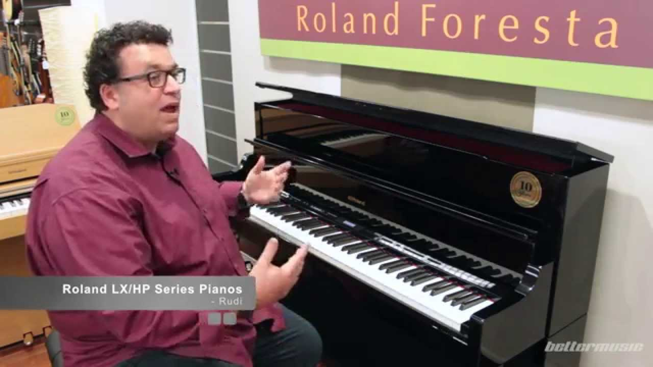 roland lx hp series digital pianos overview and demo lx 17 better music youtube. Black Bedroom Furniture Sets. Home Design Ideas