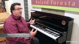 Roland LX & HP Series Digital Pianos Overview and Demo (LX-17) | Better Music
