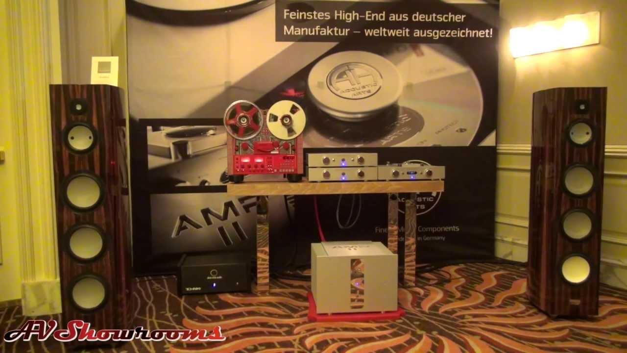 united home audio gauder acoustics accustic arts youtube