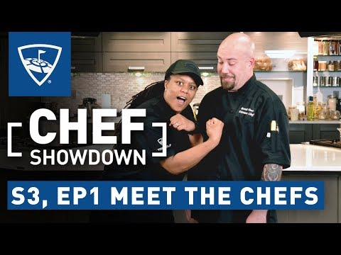 Chef Showdown | Season 3, Episode 1 Meet the Chefs | Topgolf