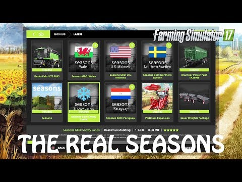 REAL SEASON MOD Ep. 1 in Farming Simulator 2017 | TIME TO DO SOME REAL GAMEPLAY | PS4 | Xbox One