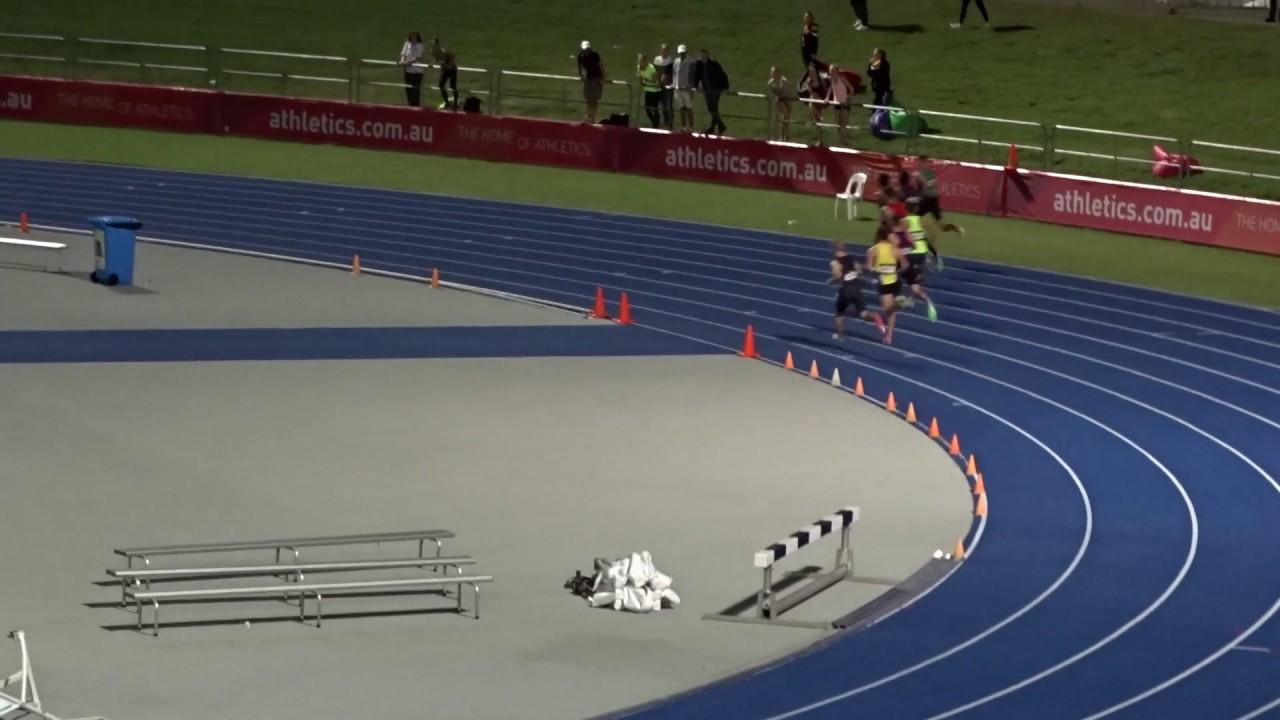 Open 800m Men Final Australian Athletics Championships Olympic Park Sydney 1 04 2017