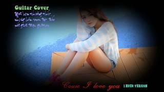 [♫ Guitar Cover ♫] Cause I love you 1hour
