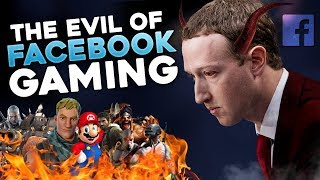The Evil of Facebook Gaming (Data & Privacy Abuse w/ Fortnite Gameplay)