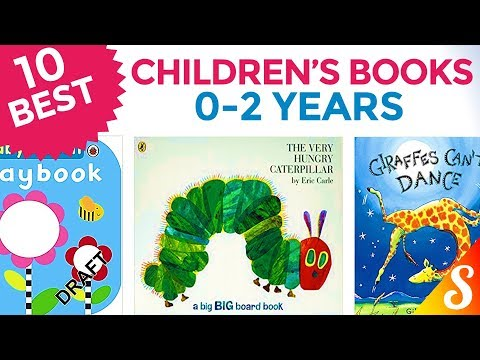 10 Best Children's Books - Age 0 to 2 Years - For Toddlers