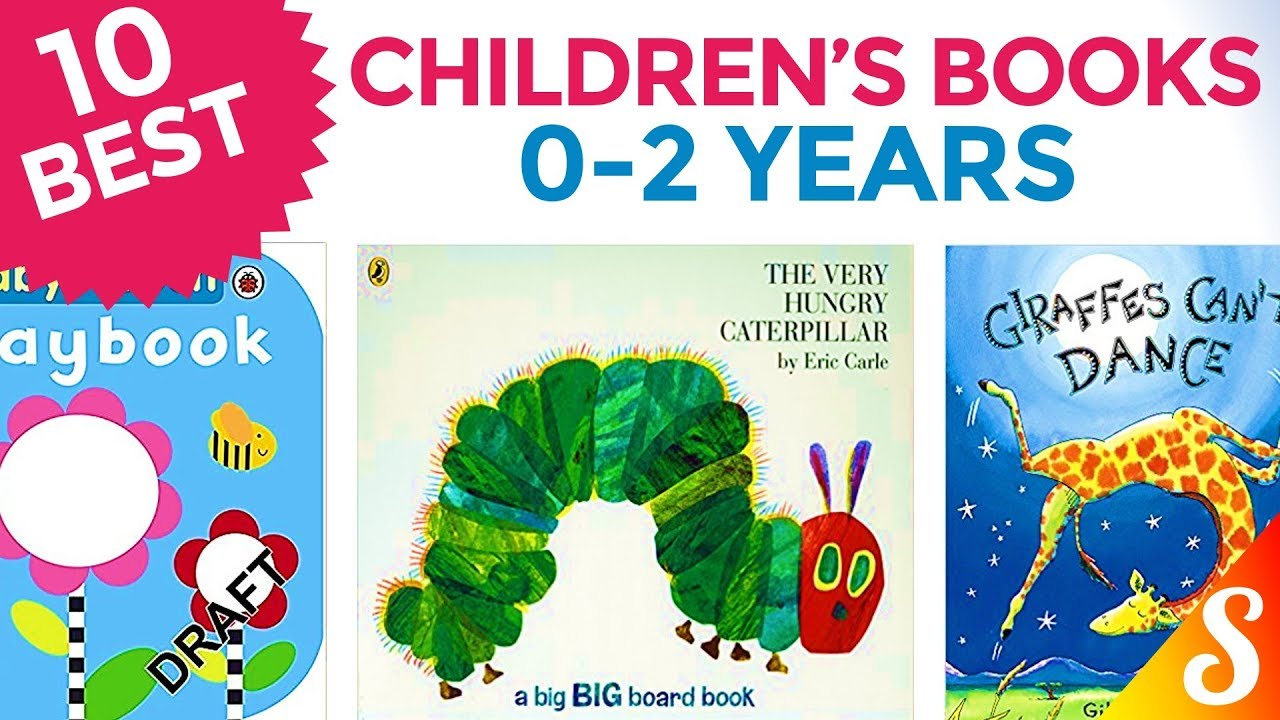 10 Best Children S Books Age 0 To 2 Years For Toddlers Youtube