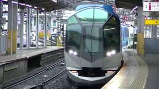 近鉄50000系「しまかぜ」鶴橋通過