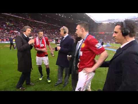 Manchester United Ferguson farewell