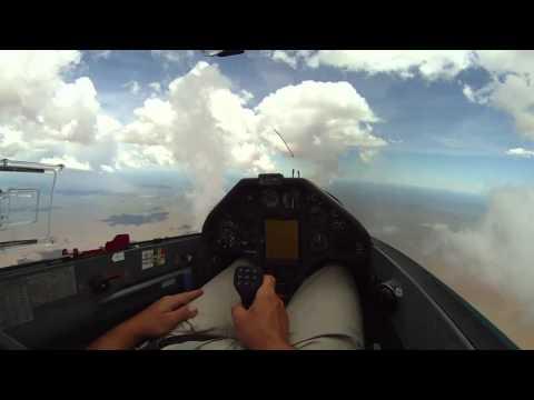 1127km Flight (1048km FAI)  from Kiripotib to Botswana with a Ventus 2CXM