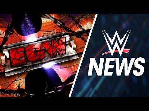WWE NEWS - Le retour de la ECW, NJPW/ROH/TNA sur le WWE Network