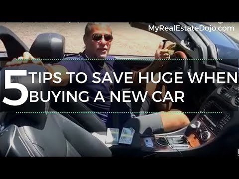 5 tips how to save 22% off MSRP, when buying a new car without hassle!