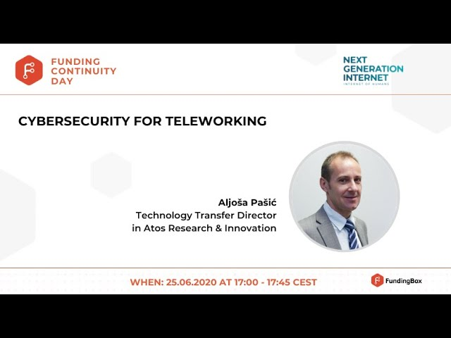 Cybersecurity for teleworking