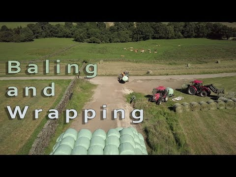 Baling and Wrapping 2017