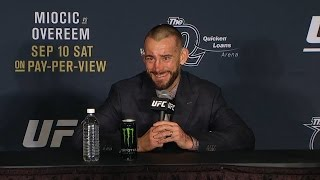 CM Punk's full UFC 203 post-fight press conference | UFC 203